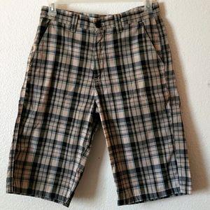 South Pole Grind it Build Plaid Shorts size 32